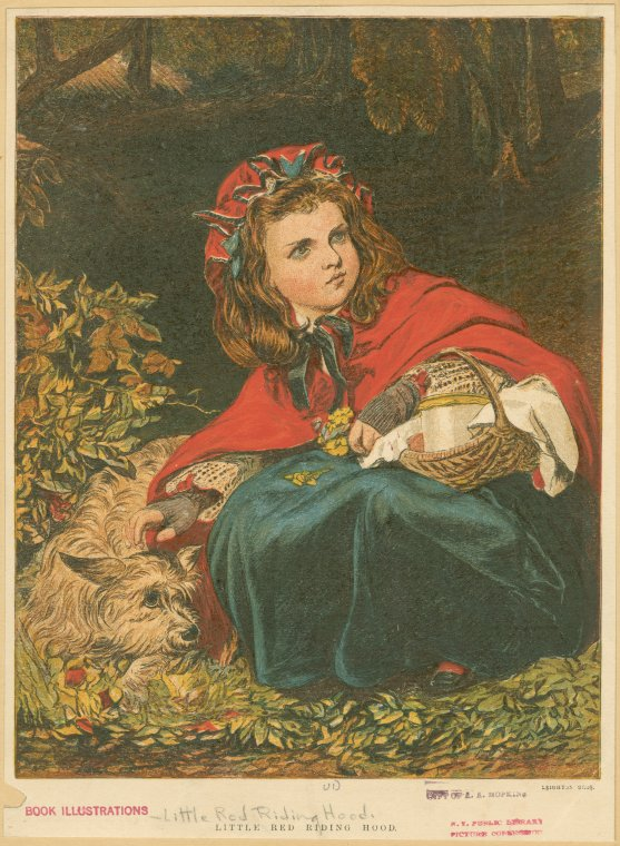 Little Red Riding Hood - Public Domain - New York Public Library http://digitalcollections.nypl.org/items/6c3fd3a0-c00e-b7e1-e040-e00a1806549e
